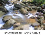 The Stream And Many Rock