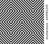 vector seamless pattern.... | Shutterstock .eps vector #644981245