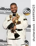 las vegas   may 21   drake at... | Shutterstock . vector #644993425