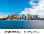 downtown sydney skyline with... | Shutterstock . vector #644993911