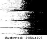 grunge old wood black cover... | Shutterstock .eps vector #645016804