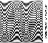 abstract wavy geometric pattern.... | Shutterstock .eps vector #645025339