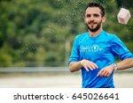 rosa khutor  russia   may 7 ... | Shutterstock . vector #645026641