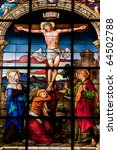 Crucifixion Of Jesus  Stained...