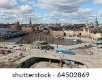 view on gamla stan in stockholm ...   Shutterstock . vector #64502869