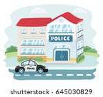 vector cartoon illustation of... | Shutterstock .eps vector #645030829