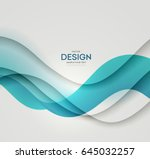 abstract vector background ... | Shutterstock .eps vector #645032257