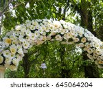 Flower Wedding Arch