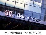 toronto   january 15  2012 ...   Shutterstock . vector #645071707