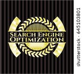 search engine optimization gold ... | Shutterstock .eps vector #645103801