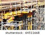 construction site scaffolding... | Shutterstock . vector #64511668