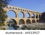 Pont Du Gard Roman Aqueduct...