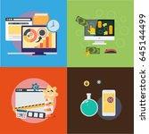app money | Shutterstock .eps vector #645144499