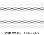 abstract halftone dotted... | Shutterstock .eps vector #645186379