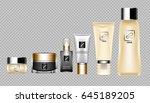 digital vector brown skin care...