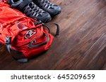 Hiking Equipment  Backpack And...