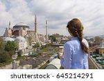 istanbul   turkey   april 23 ... | Shutterstock . vector #645214291