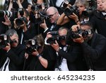 photographer attends the 'the... | Shutterstock . vector #645234235