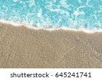 sea water texture background.... | Shutterstock . vector #645241741