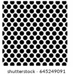 pattern polka dot | Shutterstock .eps vector #645249091