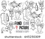 find one picture without a copy....   Shutterstock .eps vector #645250309