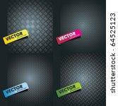 set metal texture   Shutterstock .eps vector #64525123