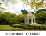 A Gazebo Known As The Bandstand ...