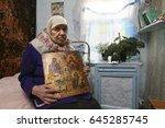 russia  kemerovo region  urska  ... | Shutterstock . vector #645285745