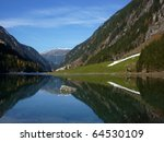 mountain lake in autumn | Shutterstock . vector #64530109