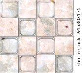 marble tiles seamless texture  | Shutterstock . vector #645303175