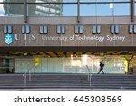 sydney  australia   april 25 ... | Shutterstock . vector #645308569