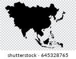 transparent   high detailed... | Shutterstock .eps vector #645328765