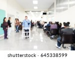 blur image of inside the... | Shutterstock . vector #645338599