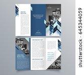 brochure design  brochure... | Shutterstock .eps vector #645344059