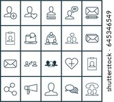 social icons set. collection of ... | Shutterstock .eps vector #645346549