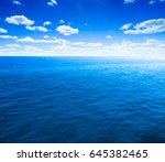 sea and beach background with... | Shutterstock . vector #645382465
