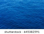 Sea Surface With Waves