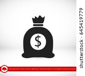 money bag icon  vector best...