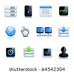 communication and internet... | Shutterstock .eps vector #64542304