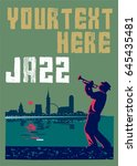 Jazz Poster. Can Be Used For...