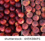 Peaches And Nectarines On The...