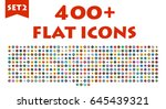 big flat icons set. education ...