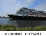 velsen  the netherlands    june ... | Shutterstock . vector #645443065
