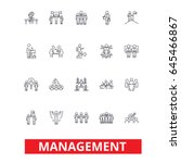 management  teamwork  marketing ... | Shutterstock .eps vector #645466867
