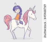 vector illustration with... | Shutterstock .eps vector #645468769