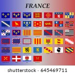all flags of the historical... | Shutterstock .eps vector #645469711