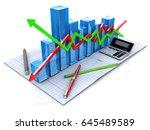 new business plan  tax ... | Shutterstock . vector #645489589