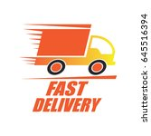 delivery concept  free  fast ...   Shutterstock .eps vector #645516394