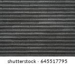 dark tile texture brick wall... | Shutterstock . vector #645517795