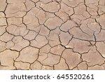 Arid Area  Pathetic  Dry Soil...